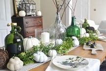 seasons / fall decorating / Spruce up your home this fall with creative fall decor ideas. / by Hoosier Homemade