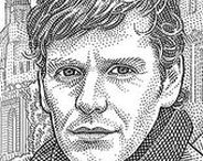 Hedcuts done by oakillustrations / Hedcut (stipple) portraits