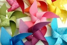 crafting / pinwheels / How to make Pinwheels and fun ideas to use them / by Hoosier Homemade