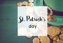 Holidays: St. Patrick's Day / Wear your green on St. Patrick's Day and enjoy these St. Patrick's Day recipes, crafts, activities, decorations and more