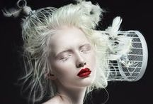 Bizarre Beauty / Make-up, hairstyles, accessories, and costumes crafted in exotic, dramatic ways creating otherworldly beauty.