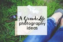 Photography Tips, Tricks, & Ideas / Capture fun, whimsical, and beautiful photographs with these posing and prop ideas.