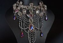 Jewelry Armoire / Exotic, ornate, antique, or couture jewelry from around the world.