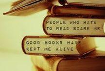 BOOKS! / by Paige Iero-Way