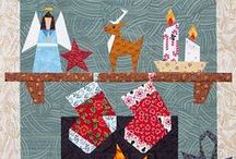 Quilt ~ Christmas / Ideas and inspirations for Christmas-themed quilts. / by Marti Anderson