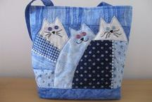 Sew and Stitch ~ OTHER Bags / DIY sewing - totes, wallets, zipper bags, diaper bags, toy bags, pouches, make-up bags, weekend bags, etc, other than  purses / handbags.  / by Marti Anderson