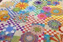 Quilt ~ Scrap / Ideas and inspirations for quilts made from scraps, bits, crumbs, strings or strips. Like our foremothers, use up everything. / by Marti Anderson