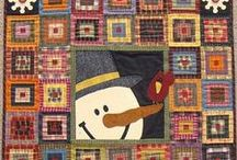 Quilt ~ Season / Ideas and inspirations for quilts that illustrate the four seasons.  / by Marti Anderson