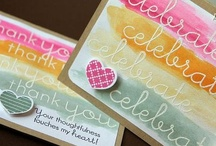 cards/stamping / by Jane Darnell