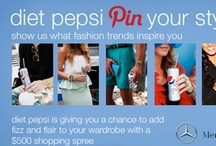 Diet Pepsi Fashion Fizz Board / by Tiffany C