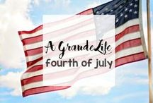 Holidays: Fourth of July / Celebrate the 4th of July with red white and blue crafts, food, decor and more