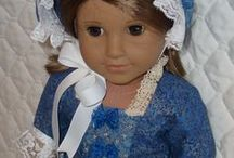 AG doll clothes / patterns / by Dave Kinney