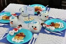 Winter Recipes, Crafts and Decorating Ideas / Fun Winter crafts, decorating ideas and recipes