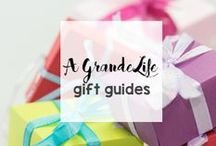 A Grande Life Gift Guides / Need help finding a great gift? Check out these gift guides for your next shopping trip.