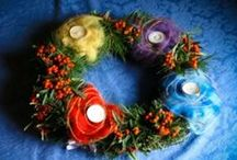 01. ADVENT WREATHS / corone dell'Avvento / by Maria Lapappadolce