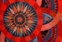 Quilt ~ Star / Ideas and inspirations for quilts with star or radiating motifs. / by Marti Anderson