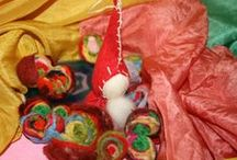01. FELT ORNAMENTS / addobbi natalizi in feltro