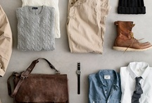 Fashion & Style - Outfit Ideas / An assortment of men's outfits for any occasion. / by Luis Sandoval
