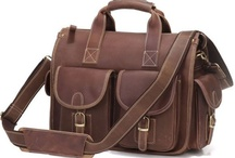 Fashion & Style - Bags / Men's bags, men's duffels, men's briefcases of all kinds. / by Luis Sandoval