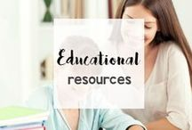 Educational Resources / Homeschooling? Teaching? Here are educational and learning resources for all ages and subjects.