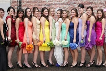 Mega Wedding Colors Board! / All brides wondering what kind of color-scheme to go for in their wedding can get some great ideas from this board... / by OuterInner.com | Dresses, Bridal Wear, Weddings & More!