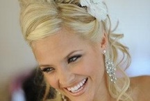 Stunning Bridal Hair / Each bride's hair is a really important finishing touch to her outfit, so you'll want to look as gorgeous as possible. Get some help from this board!