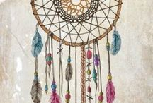 Dreamcatchers / my love for dreamcatchers and feathers :)  / by Casey Bizich