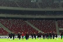 Trening przed meczem z Ukrainą