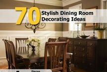 Decorating: Dining room  / by Toni McKinney