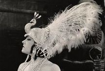 Vintage Exotica / Burlesque starlets, Hollywood divas, vintage pin-ups, and notorious courtesans of an earlier era, captured glamourously in black and white glory.