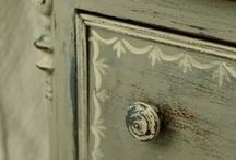 Fun-iture ~ Dresser / Ideas and inspiration for DIY treatment of dressers.  / by Marti Anderson