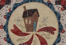 Quilt Block Stash - House / Ideas for making house quilt blocks. / by Marti Anderson