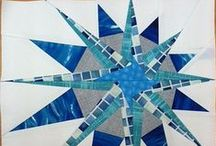 Quilt Block Stash - Star / Ideas for star or radiating quilt blocks. / by Marti Anderson