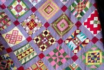 Quilt ~ Sampler / Because making every block the same is boring to do and to look at. Ideas and inspiration for sampler quilts. / by Marti Anderson
