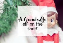 Elf on the Shelf / Get creative with your Elf on the Shelf ideas with these fun ideas, hiding places and more.