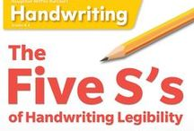 ELA | Handwriting Help / A collection of handwriting printables and other handwriting resources.