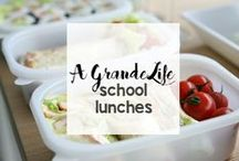 School Lunch Ideas / Head back to school with the best lunch in class! Great ideas for school lunches.