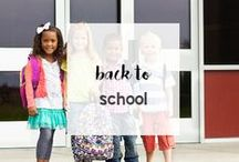 Back to School / Head Back to School at the head of the class with these tips, printables, recipes, and more!