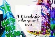 Holidays: New Year's Eve / Countdown to the New Year with these recipes, activities, games, and more!