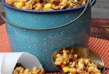 Popcorn Recipes / homemade popcorn recipe -- popcorn snack recipes -- party popcorn