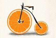 Bike Illustration / On yer bike / by Aileen