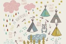 Rustic Illustration / Inspired by Farthing Wood / by Aileen