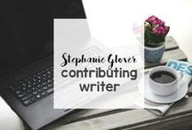 Stephanie Glover, Contributing Writer / Stephanie Glover is a contributing writer for various website, publications, and blogs. Here is where you can find her!