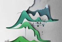 Interactive Illustration / Pop-up books, colouring and other interactive fun. / by Aileen