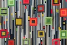 Quilt ~ Modern / Quilts with a simple and contemporary vibe. / by Marti Anderson