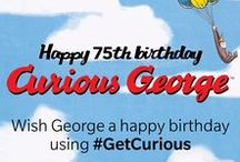 Curiosity Day / Curious George's 75th Birthday is September 17th! Send him wishes using #GetCurious!