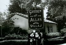Garden of Allah Hotel / The Garden of Allah was a famous (or infamous) hotel in Hollywood that catered to many of Hollywood's famous celebrities.