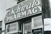 Schwab's Pharmacy / The most popular pharmacy/drugstore in the world.  It catered to hundreds of Hollywood movie stars