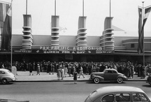 Pan Pacific Auditorium / Pan Pacific Auditorium was the home to many Ice Capades, auto shows, basketball games and other events.