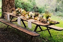 Rustic Tabletops / by Deliciously Organic